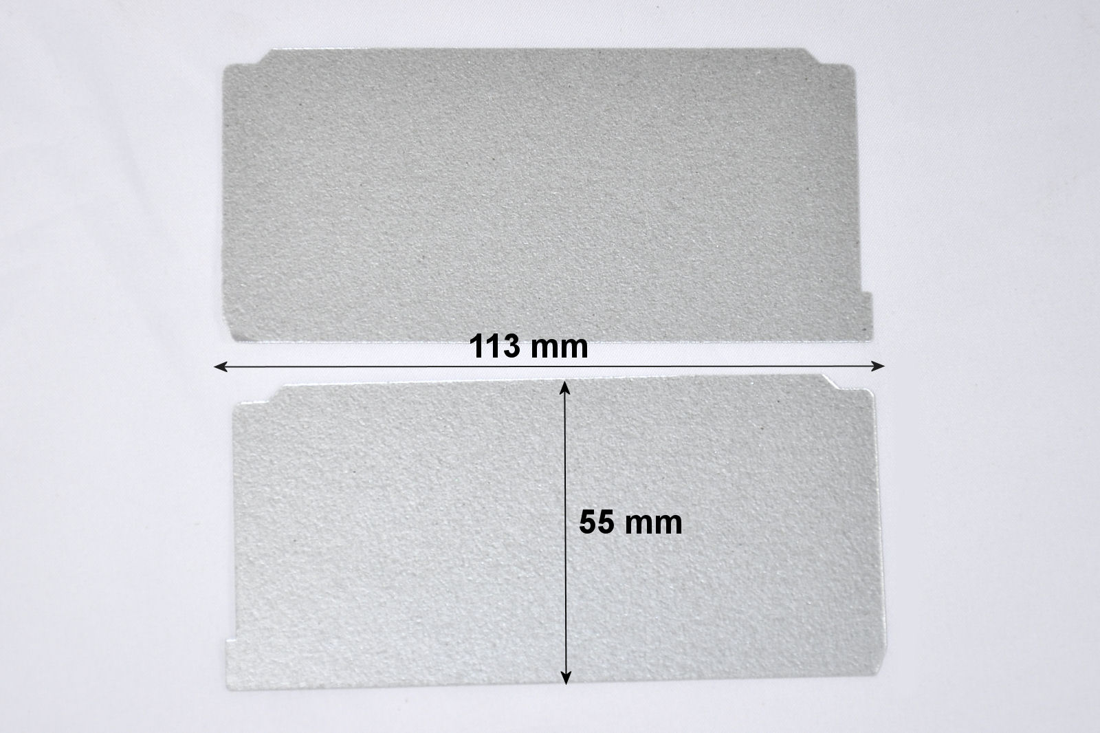 Pack of 2 Waveguide Covers for Panasonic microwave ovens - Z20559V00XP
