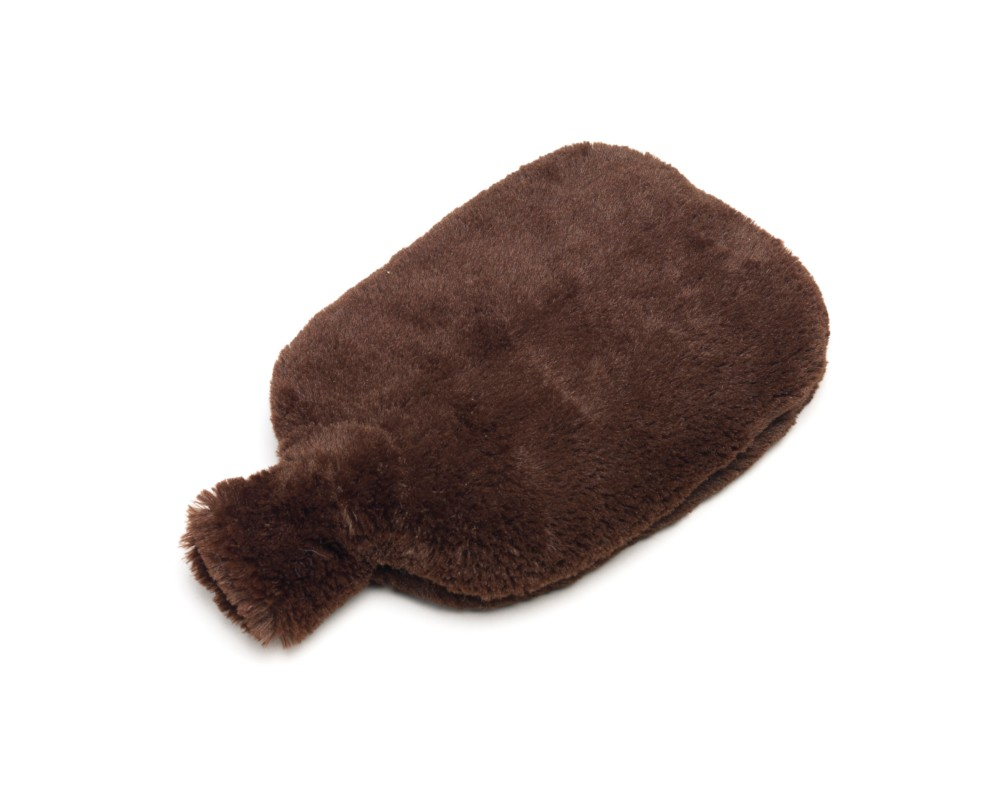 Furry warmers brown hot bottle [TLX.BROWN-BOTTLE]