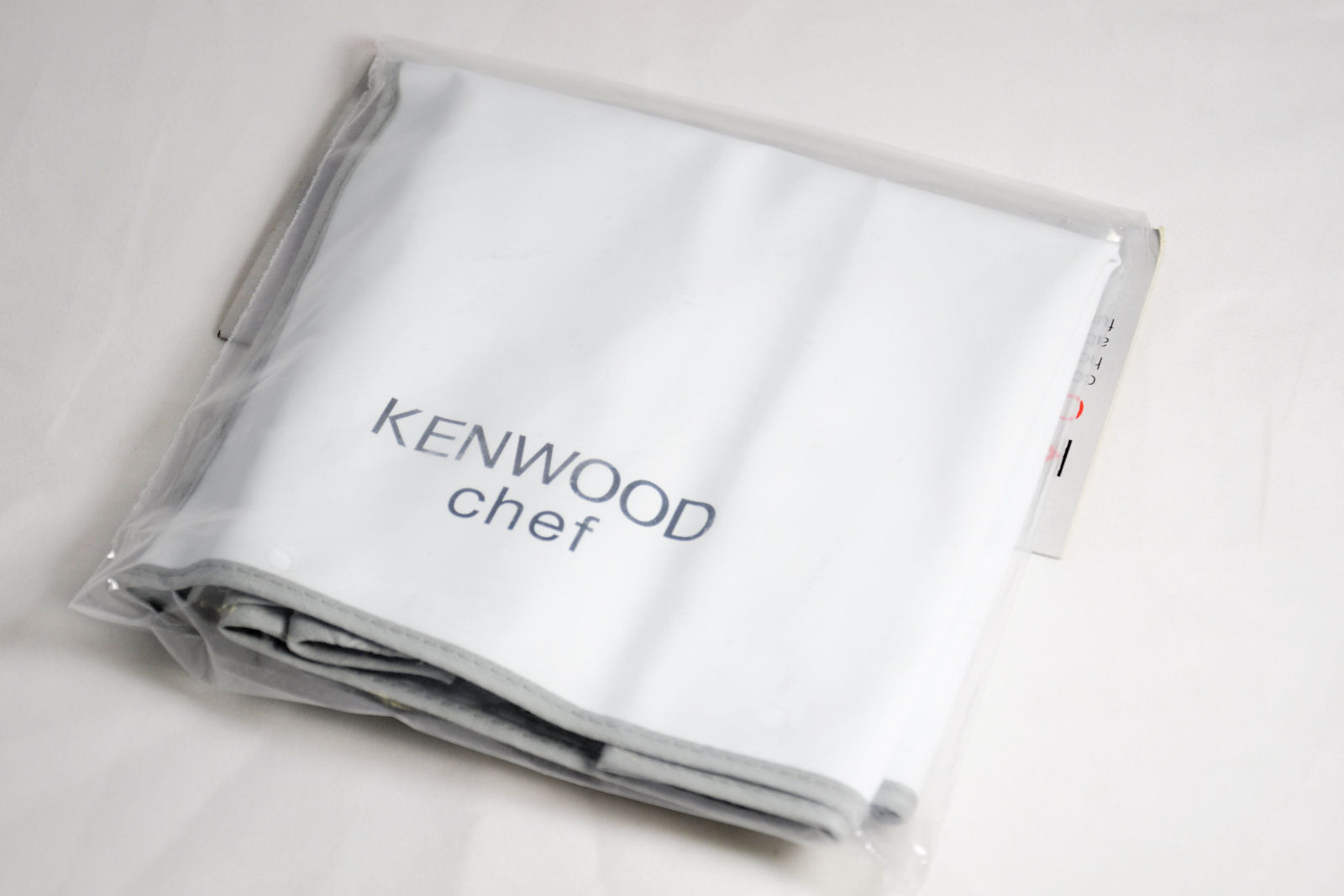 White cover for Kenwood Chef food mixers