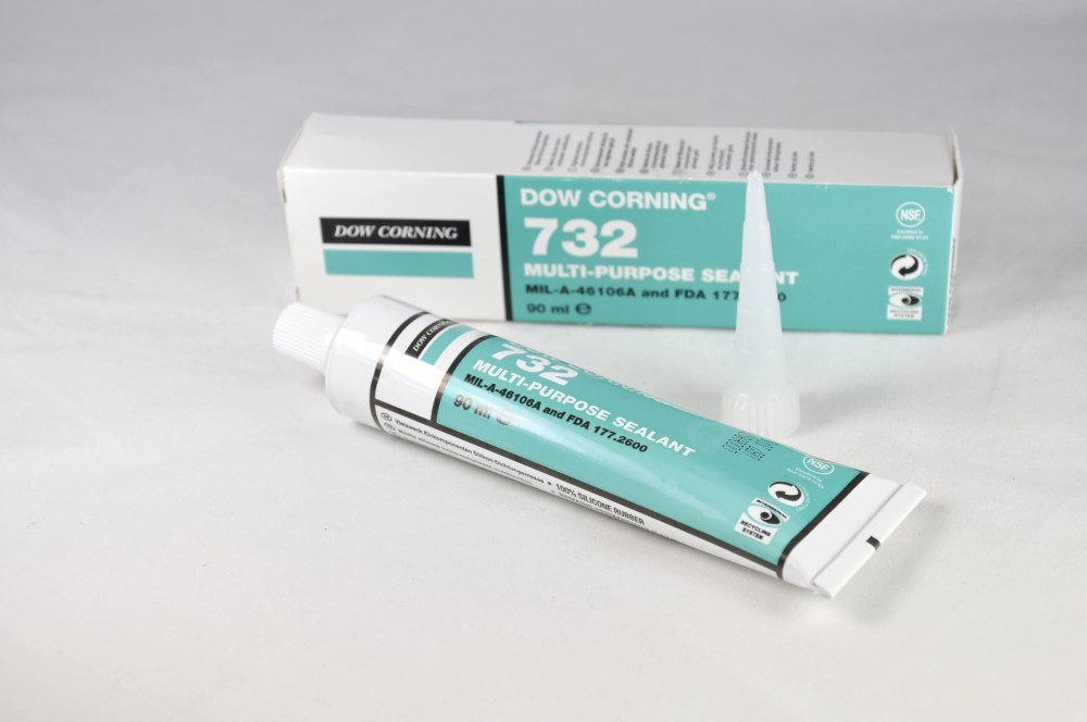 White silicon RTV sealant [FAR.2289630]