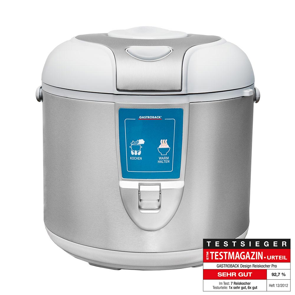 Gastroback Design 3 litre rice cooker