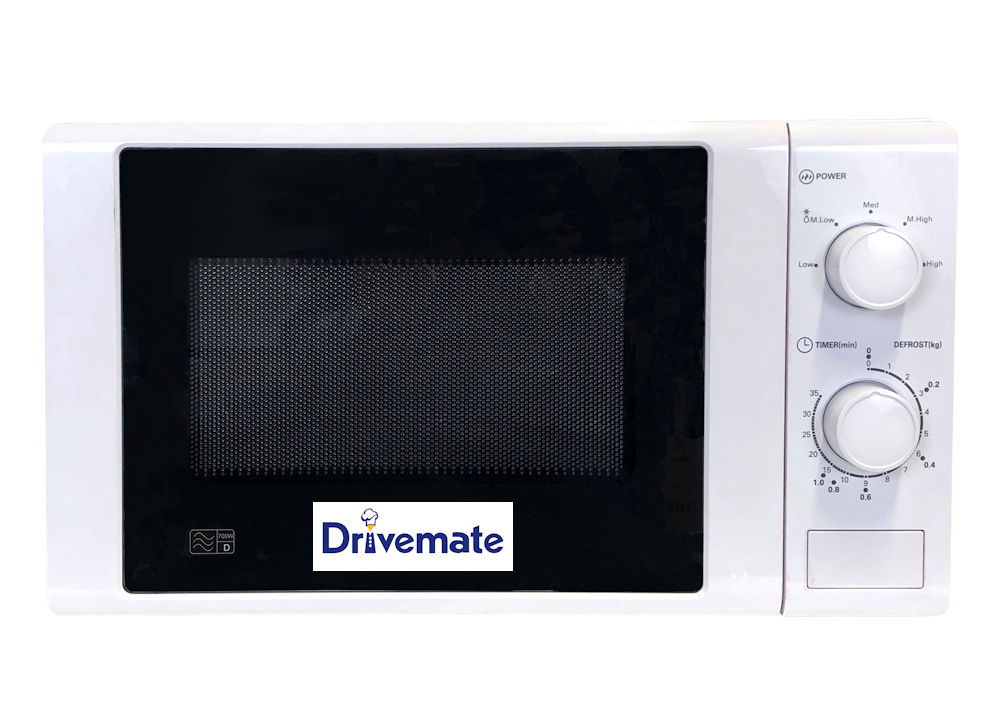 320 Watt - Low power White Microwave Oven  [MSC.WELMW101]