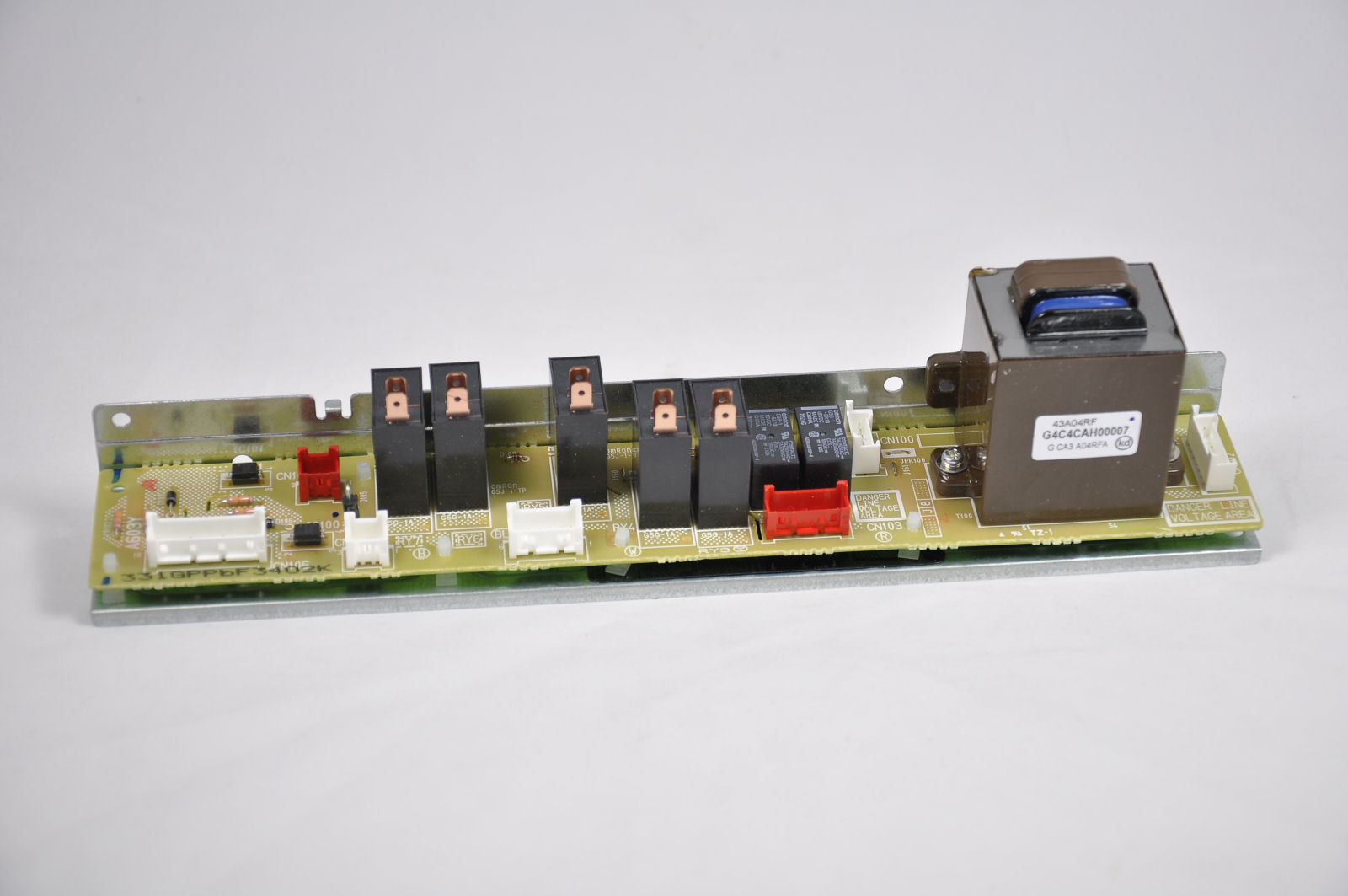 Relay and low voltage supply PCB for Panasonic commercial microwave ovens