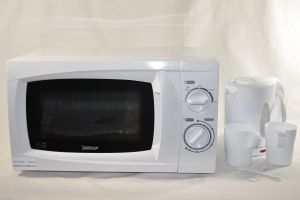 500 Watt Low Power Microwave And Kettle Ideal For Caravans