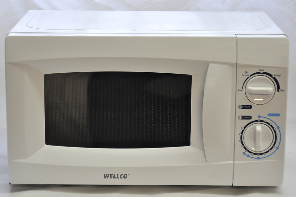 Welmw101 500 Watt Low White Microwave Oven Msc