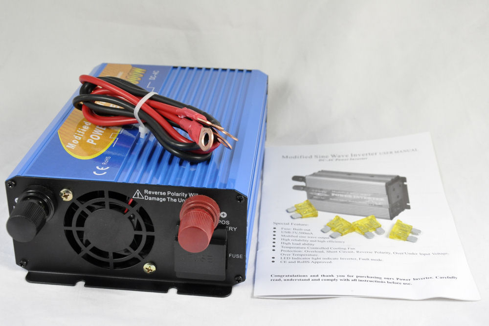 1000 watt, 12 Volt Power Inverter (SS.VM1000)