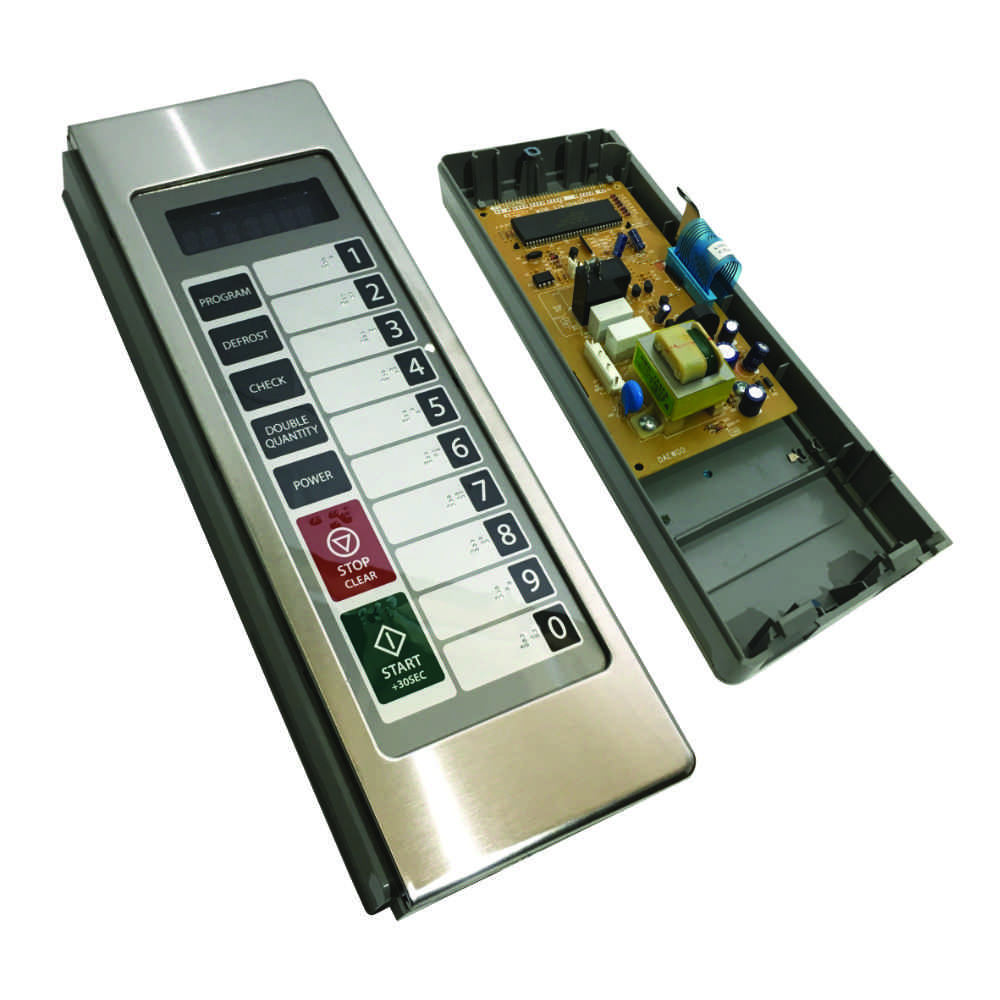 Control panel for Daewoo KOM9P11 microwave ovens