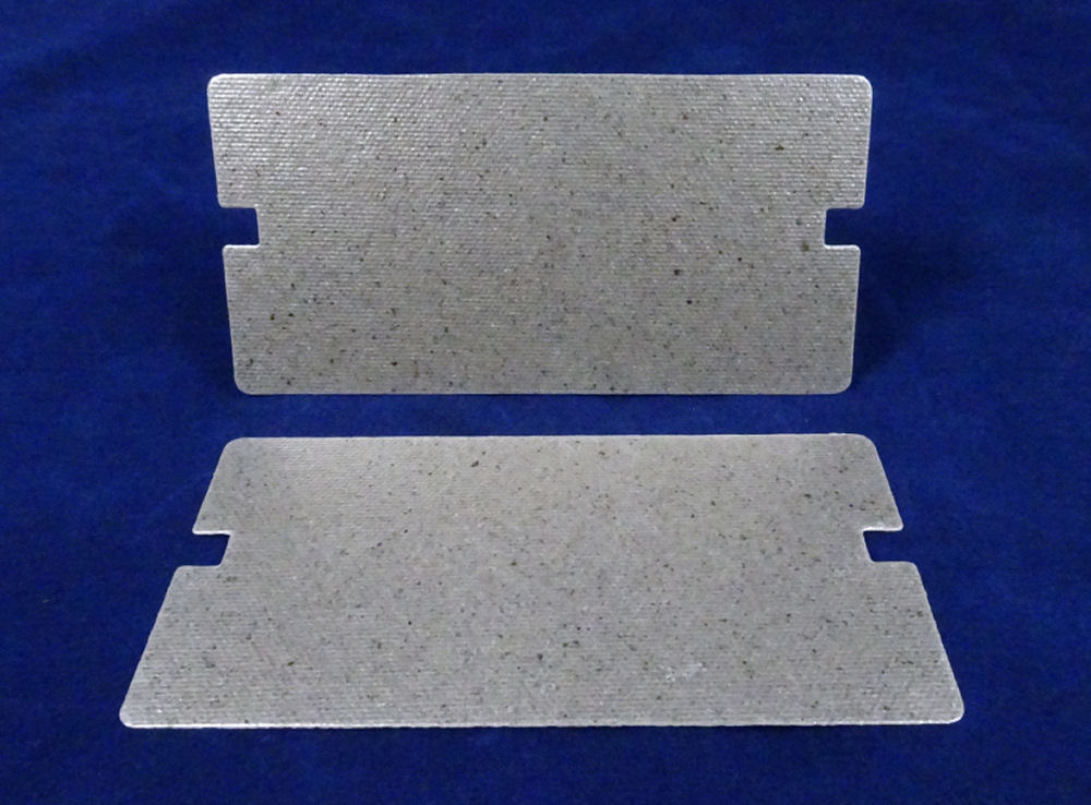 Pack of 2 Waveguide Covers for Samsung ME732K-S, MG23F01TAK Microwave ovens
