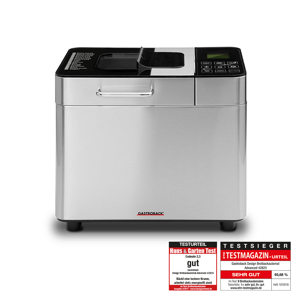 Gastroback Design automatic 1 kg bread maker