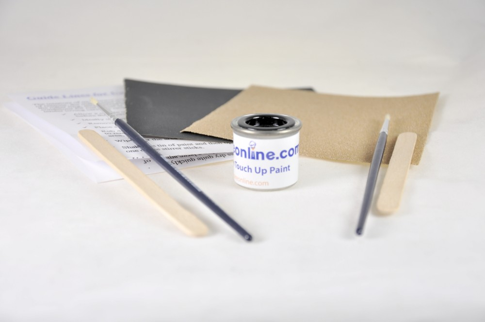 Enamel Paint Touch Up Kit For Black Microwave Ovens