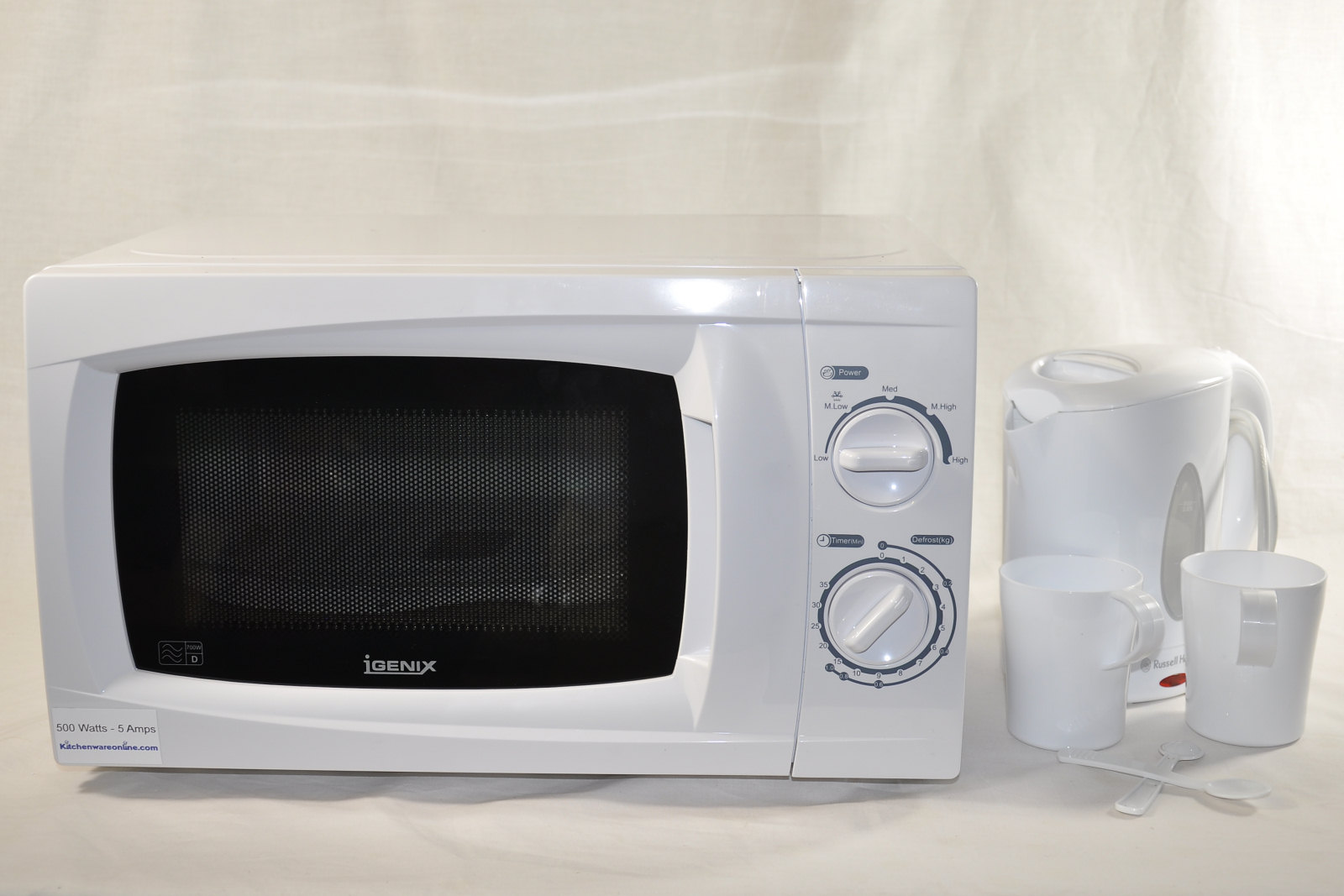 Low Power Microwave and Kettle set [LOWPOWER.KIT002]