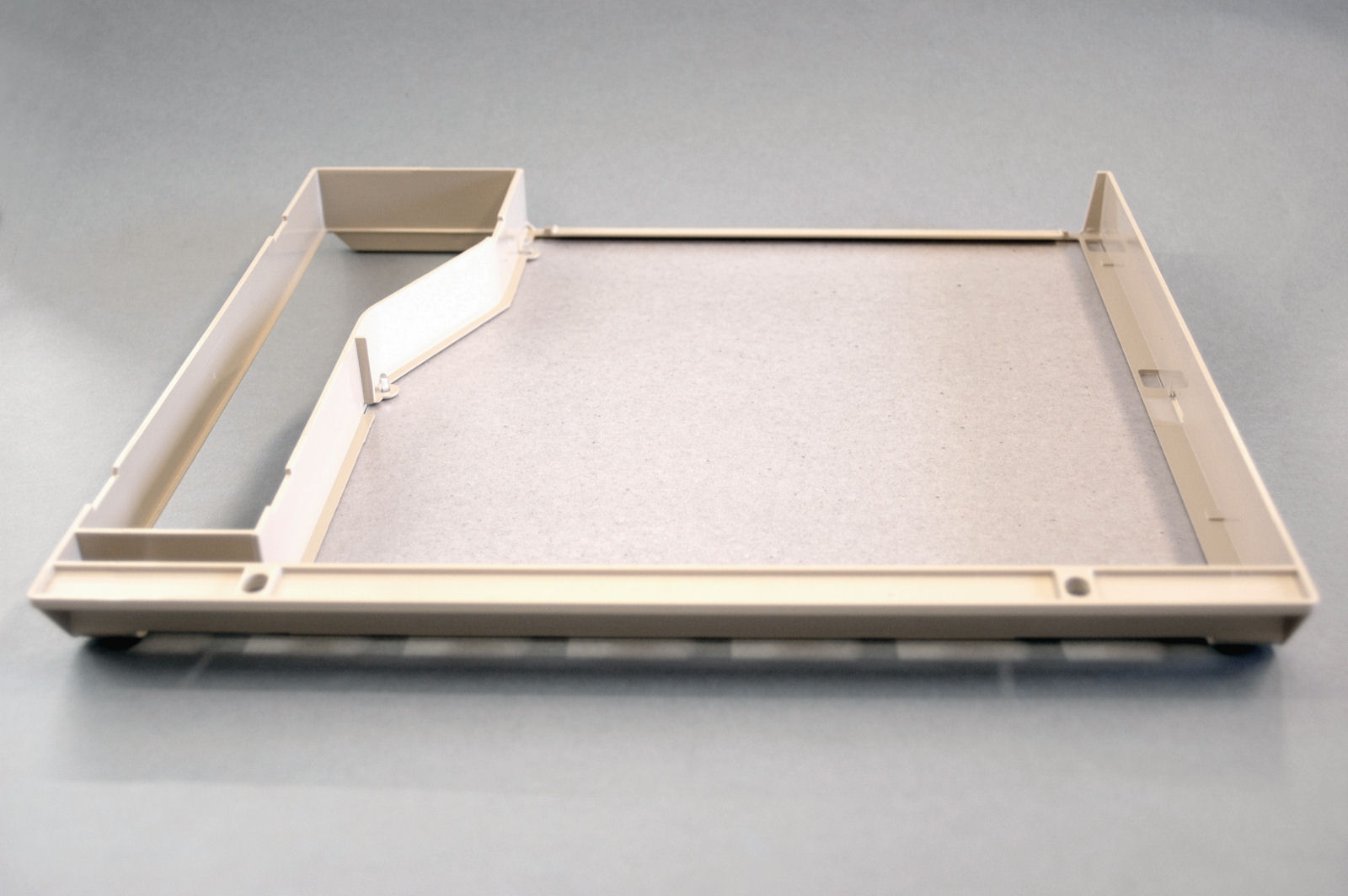 Stirrer cover assembly for Hobart M1600T microwave oven