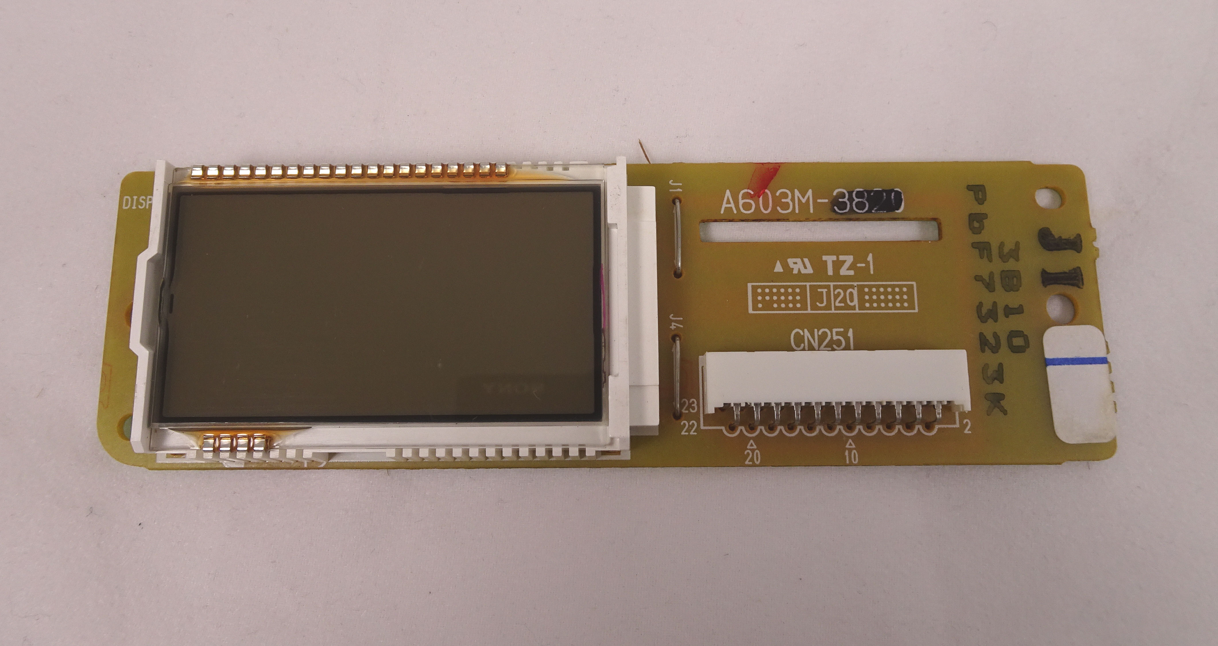 Display PCB for Panasonic commercial microwave ovens