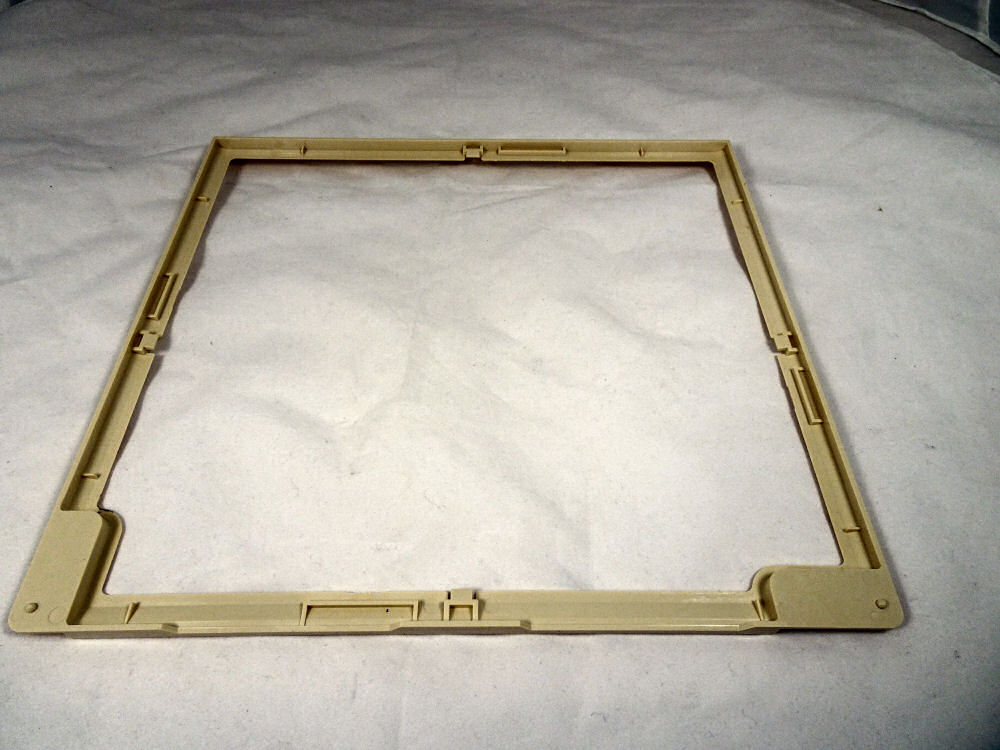 Sharp R1900M commercial microwave stirrer cover frame [ASW.2534144]