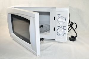 500 Watt - Low Power White Microwave Oven [MSC.IG2071]