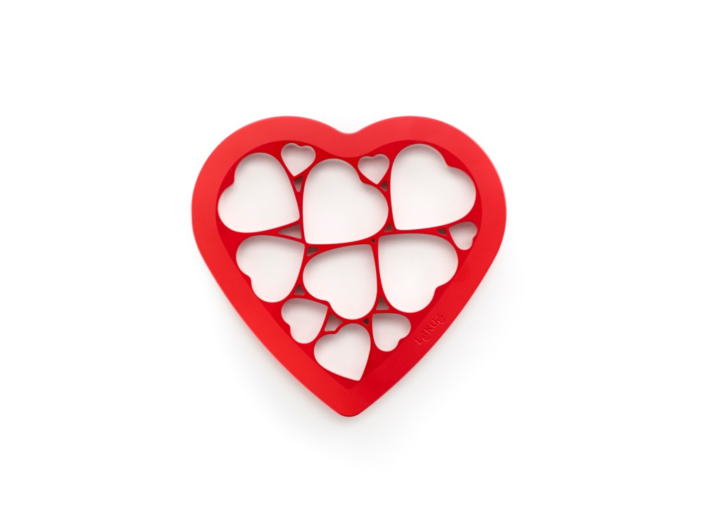 Lekue cookie puzzle hearts maker [LEK.0200160R01M017]