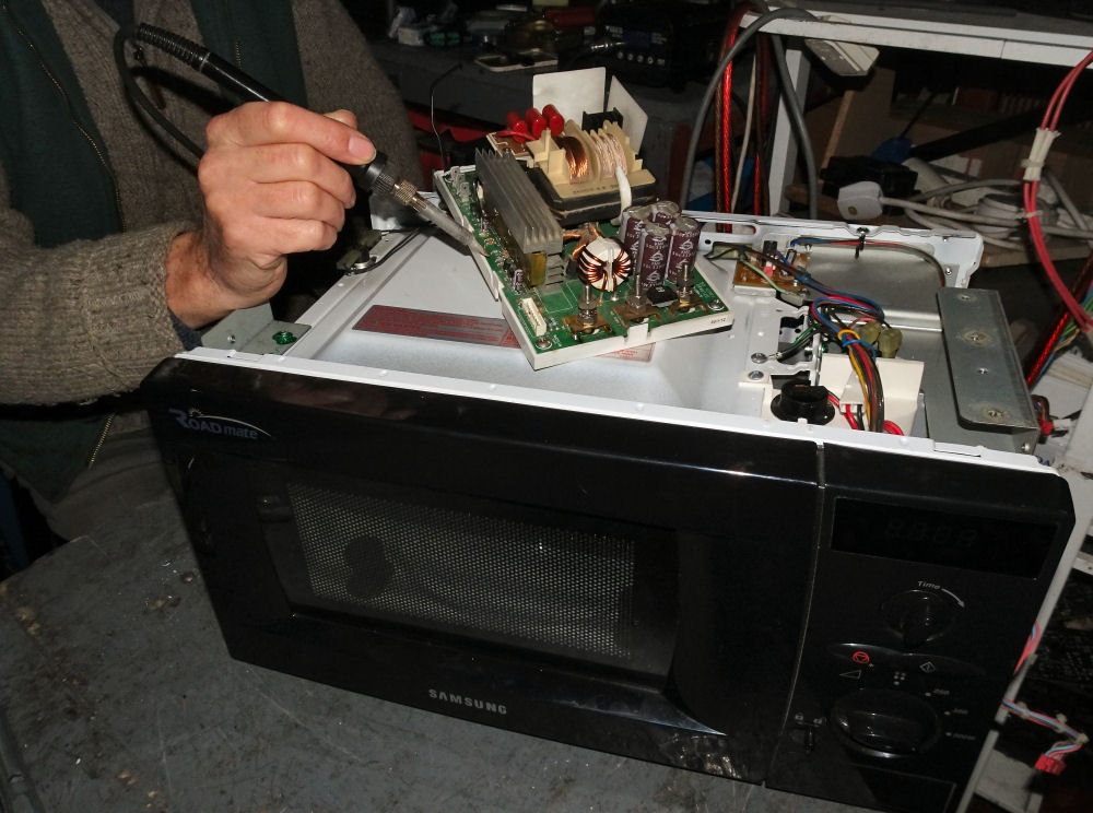 24 Volt Microwave Oven Repairs