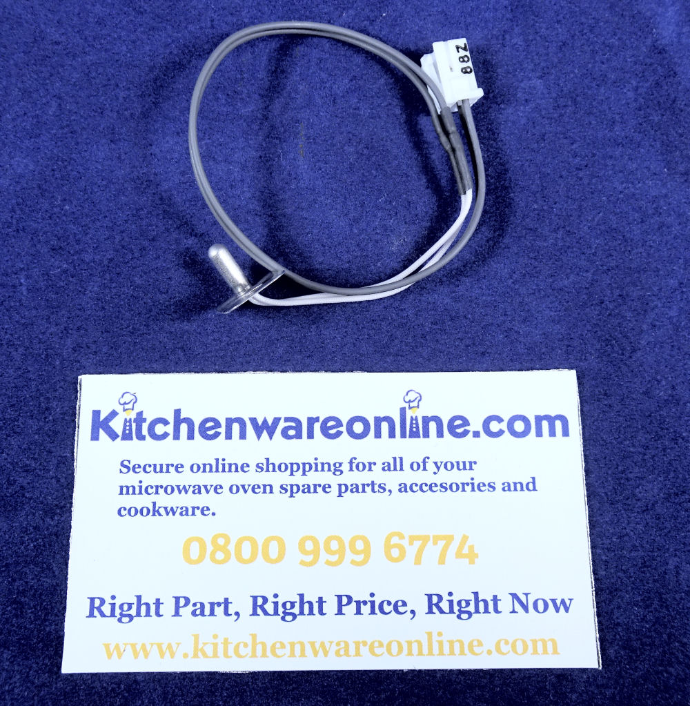 Sharp R-24AT Magnetron and exhaust thermistor