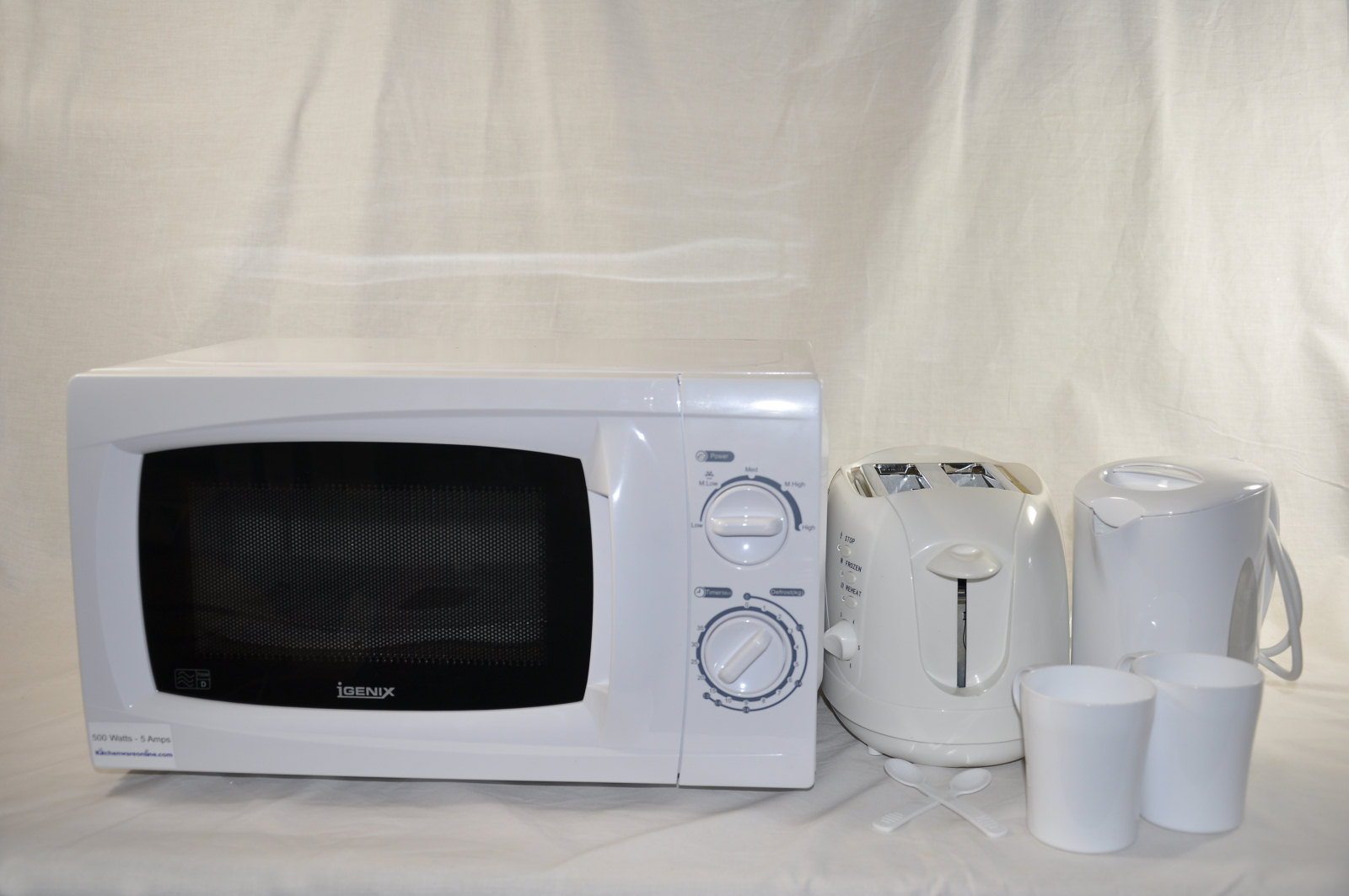 Low Power Microwave, Kettle and Toaster set [LOWPOWER.KIT001]
