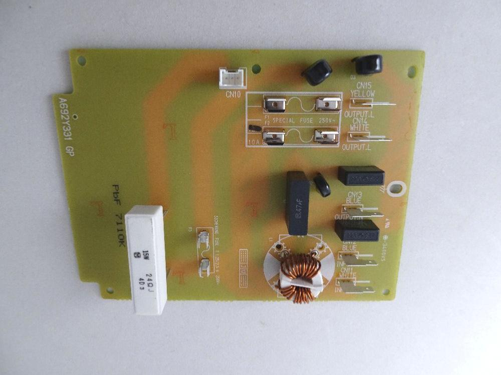 Noise filter assembly for panasonic commercial microwave [PAN.COM.A692Y3310GP]