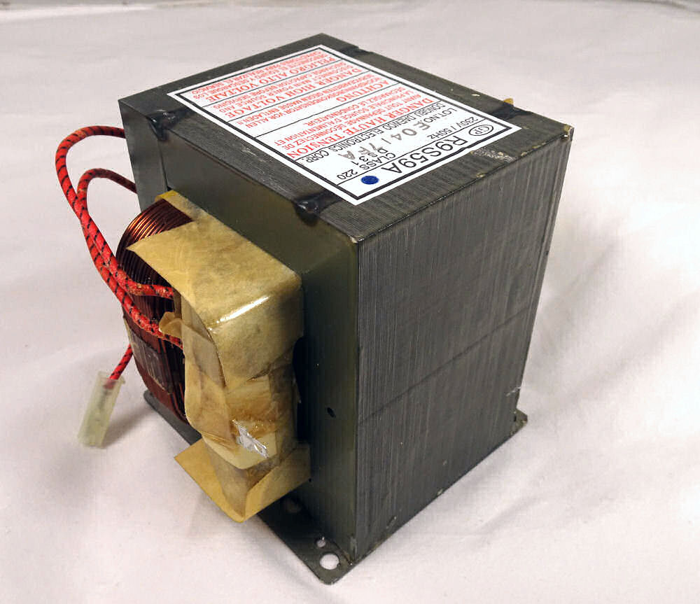 High Voltage Transformer for Buffalo CF765 microwave oven