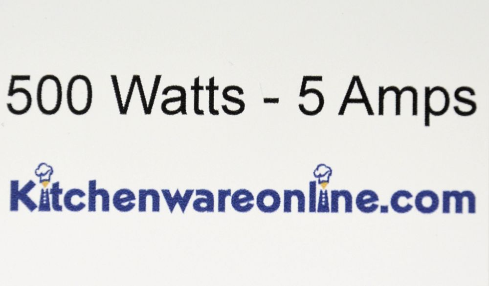 500 Watt Low Wattage White Microwave Oven
