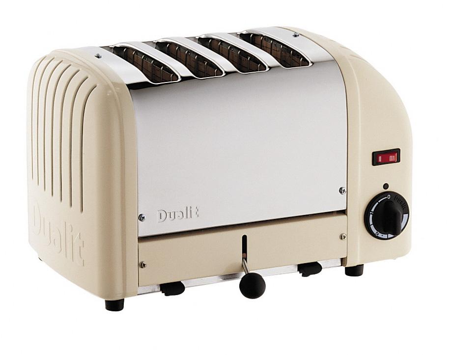 Cream Toaster Ovens ~ Dualit vario slice cream toaster