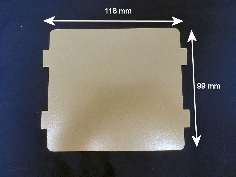 Waveguide cover for Sharp microwave ovens