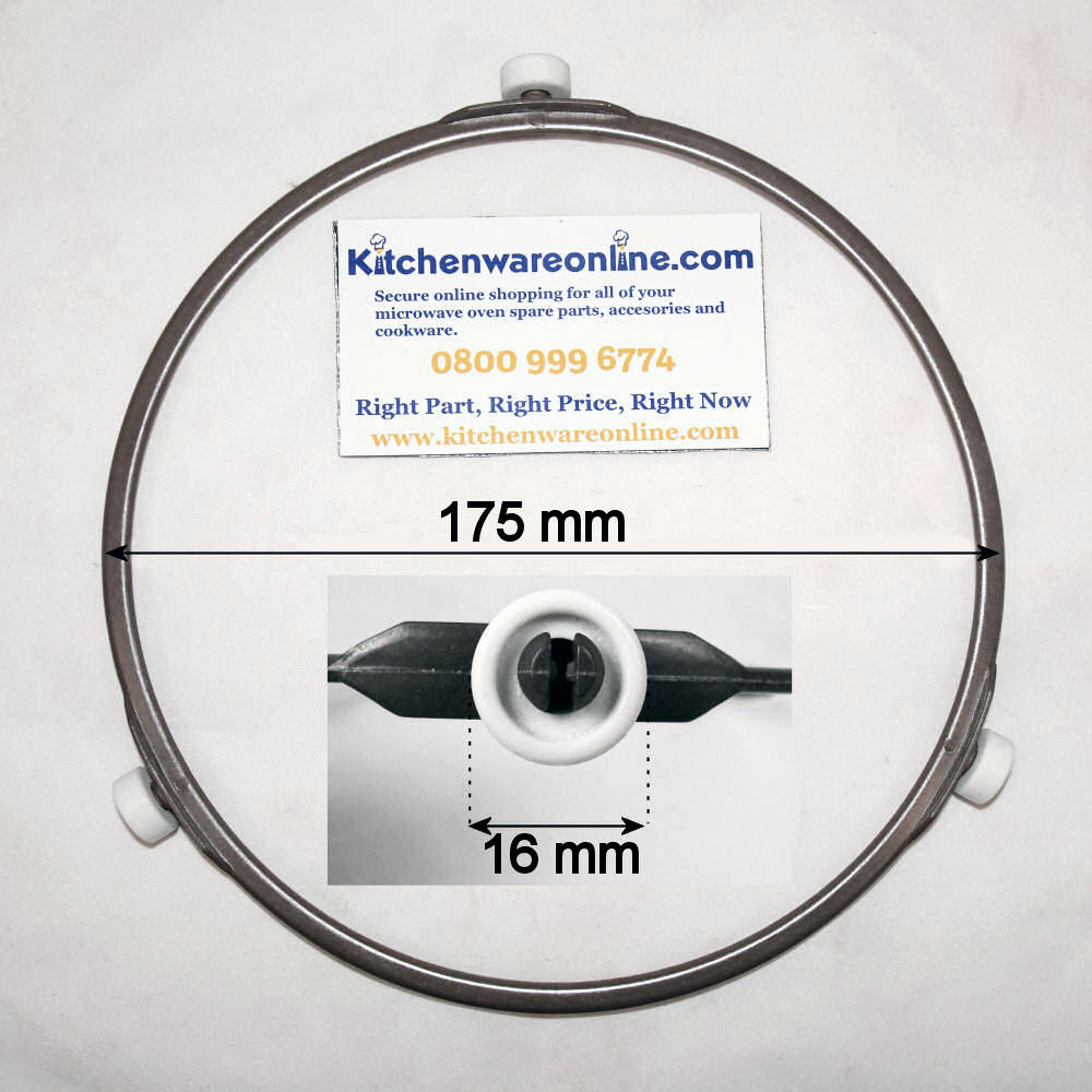 Plastic roller ring (175mm) for Panasonic microwave ovens