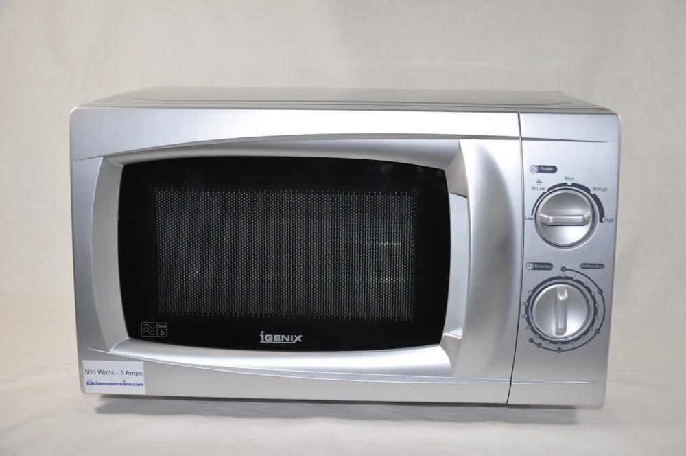 500 Watt Low Silver Microwave Oven Pik Ig2807