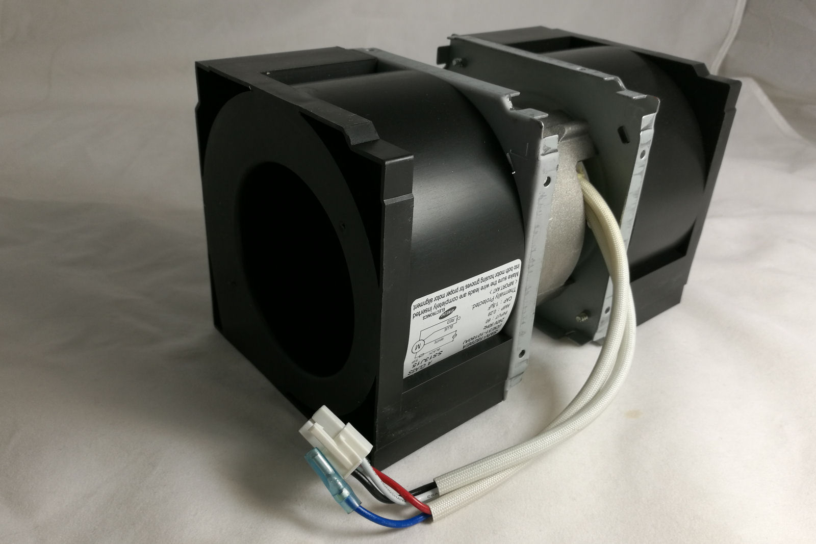 Cooling Fan Assembly for Samsung commercial microwave [SAM.COM.DE31-10180A]