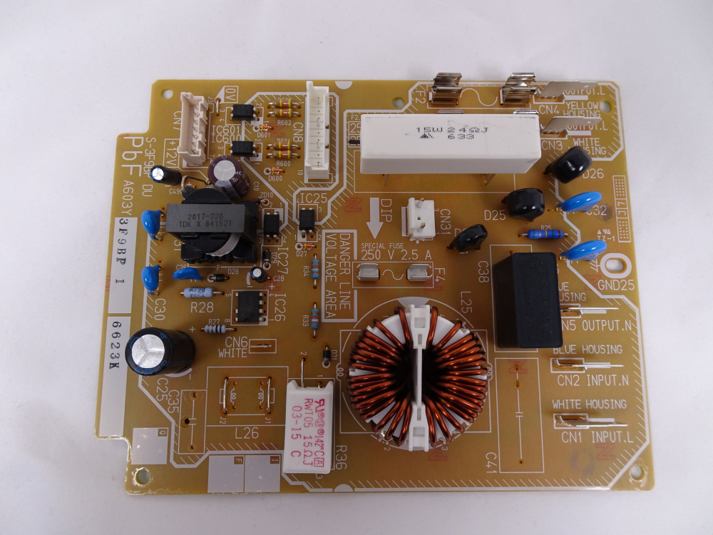 Noise filter assembly for panasonic commercial microwave [PAN.COM.A603Y3F90BP]