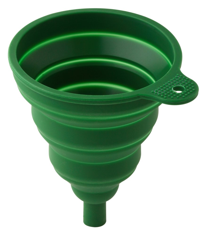 Collapsible funnel-green [WKP.FUNNEL-GREEN)