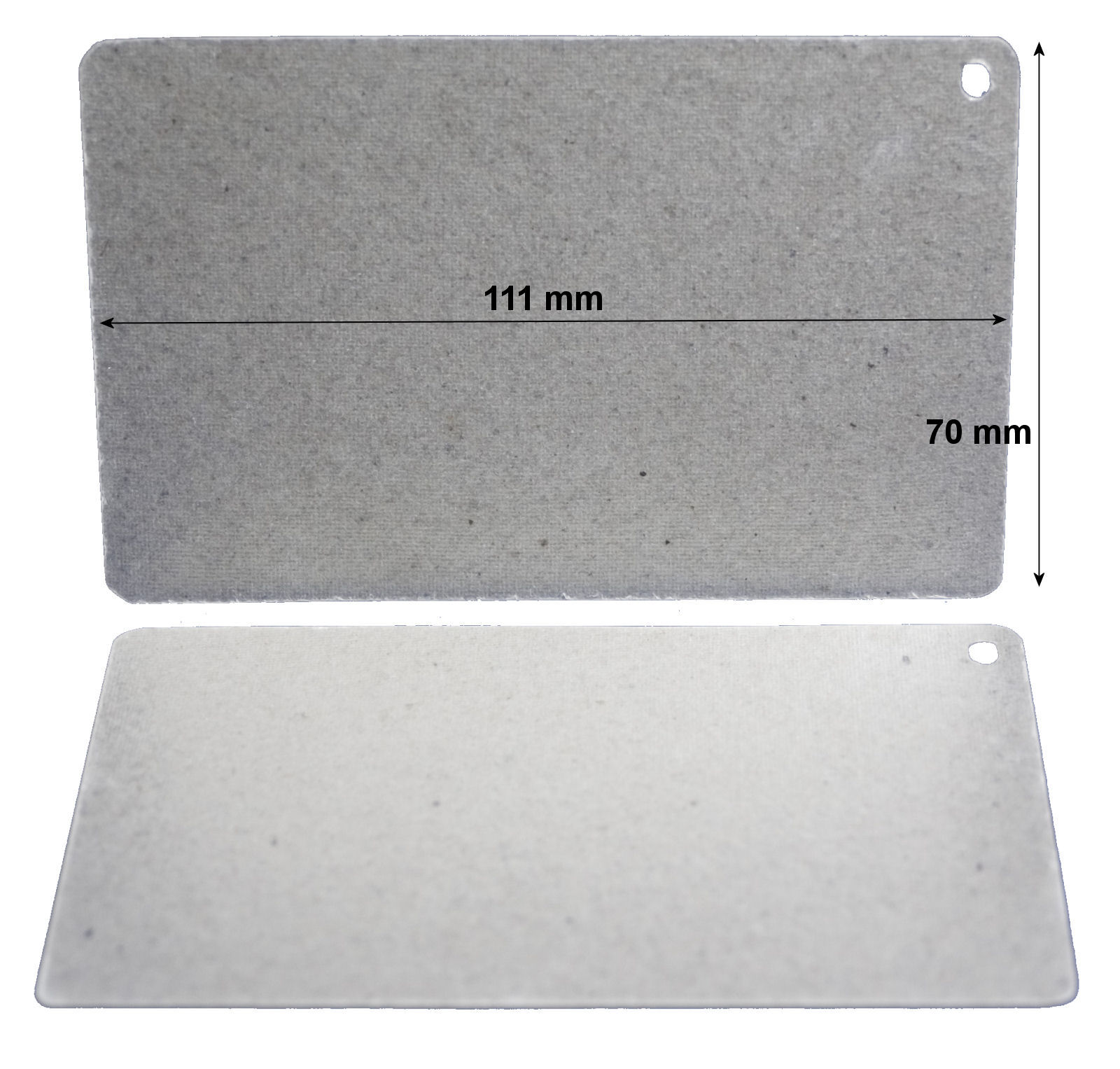 Pack of 2 waveguide covers for Sanyo / Sharp 109mm x 69mm  - PAN.GA-EM-S1053/P36