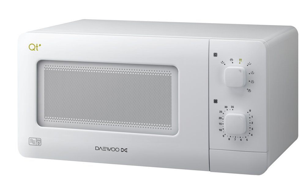 600 Watts Compact White Microwave Oven [PIK.DW0011]