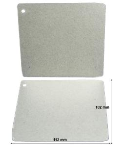 Pack of two waveguide covers for Panasonic microwave ovens
