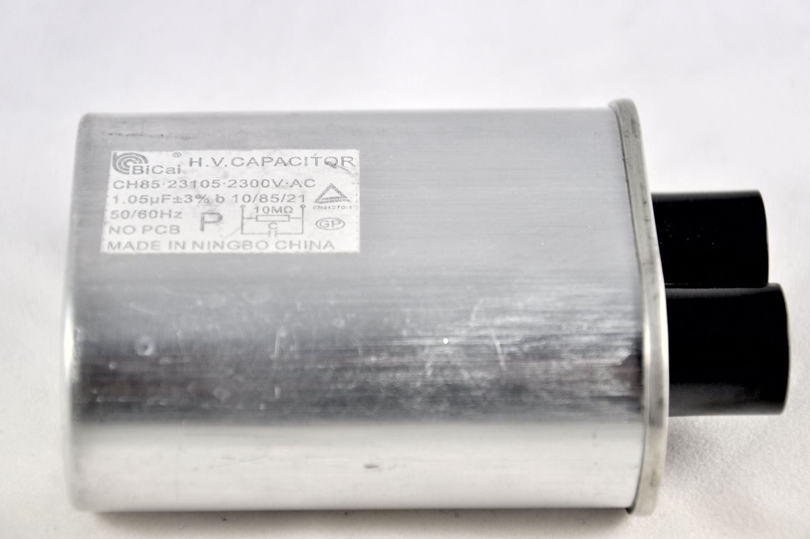 Sharp commercial microwave oven high voltage capacitor