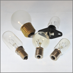 Bulbs for microwave ovens