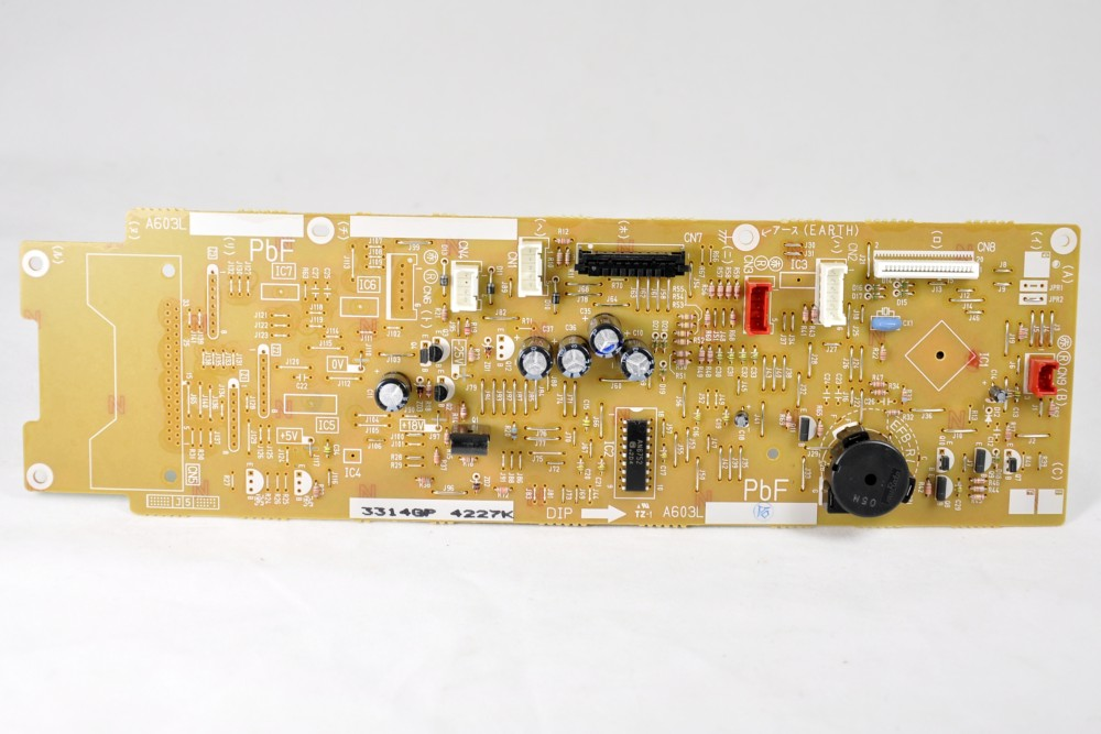 Main Control PCB for Panasonic touch control commercial microwave ovens. [PAN.COM.A603L3330GP]