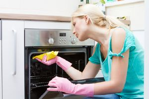 Oven and grill cleaning