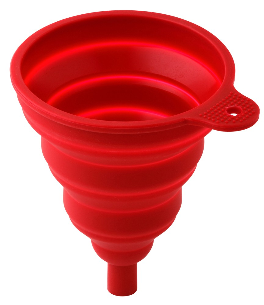 Collapsible funnel-red [WKP.FUNNEL-RED]