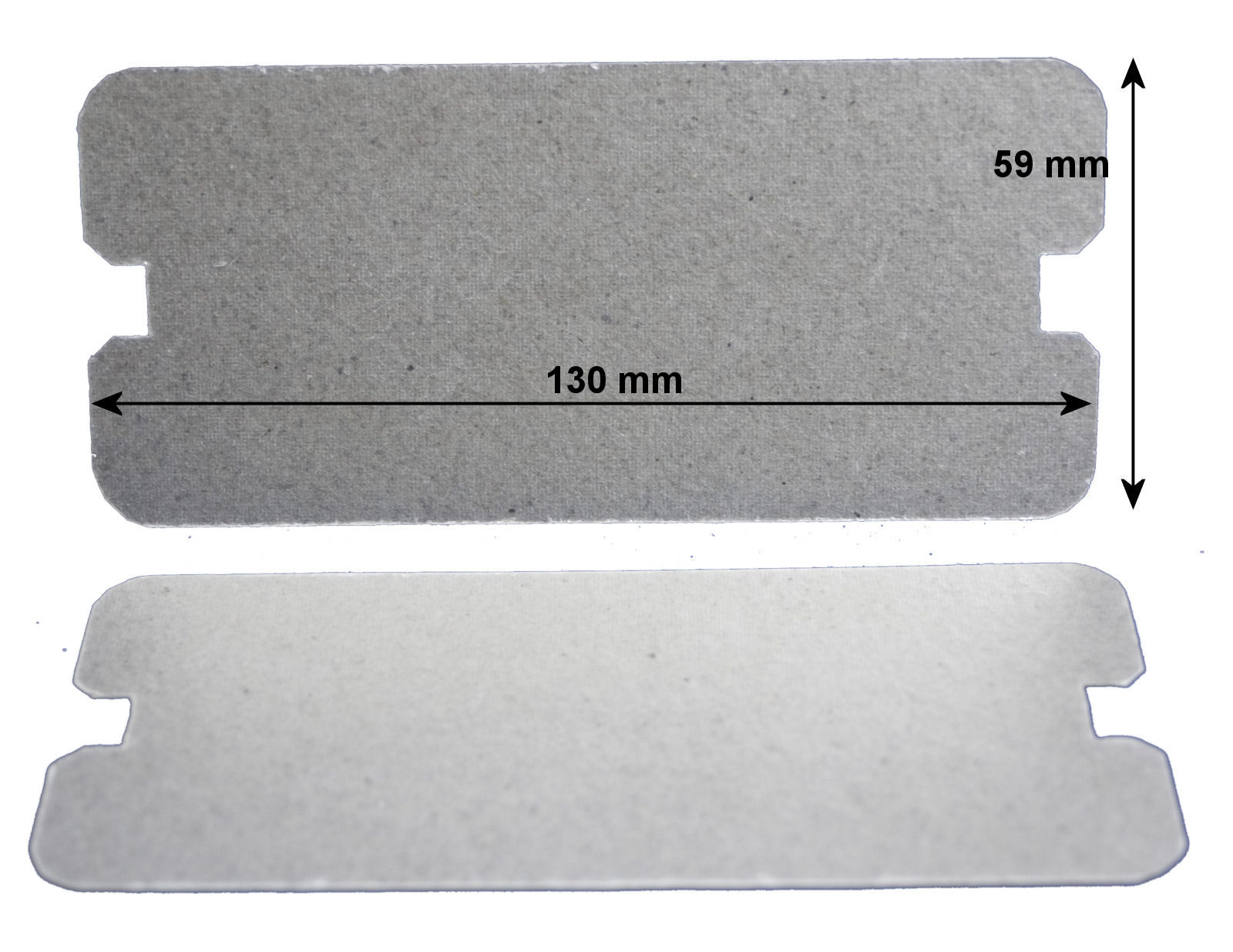 Pack of 2 waveguide covers for Sharp microwave ovens - PCOVPA361WREZ